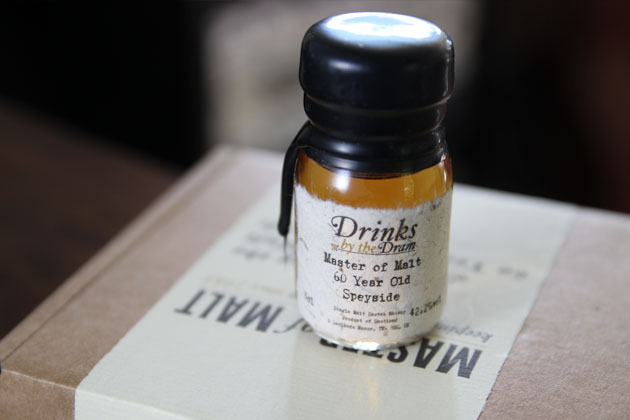 Master of Malt 60 year Old Speyside sample